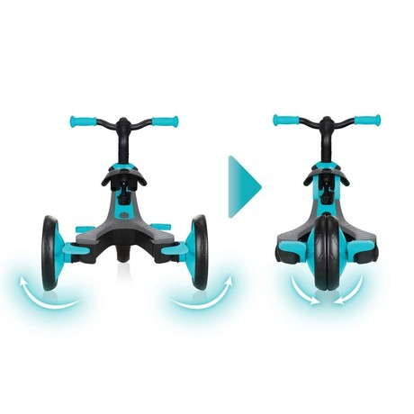 GLOBBER SCOOTER EXPLORER TRIKE 4in1, TURQUOISE
