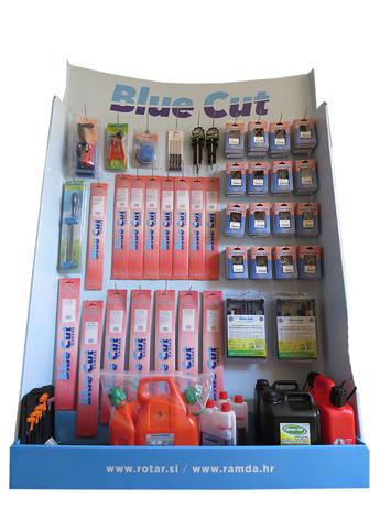BLUE CUT STOJALO (karton)